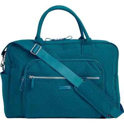 331b9e0157 Vera Bradley Iconic Weekender Travel Bag - Bahama Bay - Beacon ...