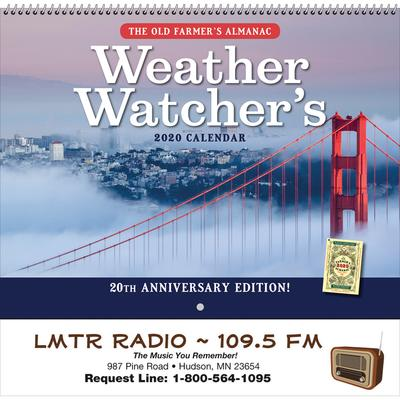 The Old Farmer's Almanac Weather Watcher's - Spiral 2020